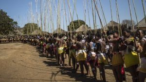 Students selected for the scheme have already received virginity tests as part of an annual Zulu ceremony