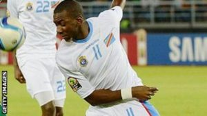Yannick Bolasie celebrated his recent marriage with a goal for DR Congo