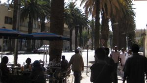 There is a strong cafe culture in Eritrea