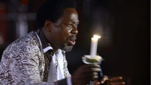 Christian evangelist TB Joshua has a huge following in Lagos