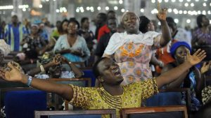 Nigeria has seen a huge growth in evangelical churches