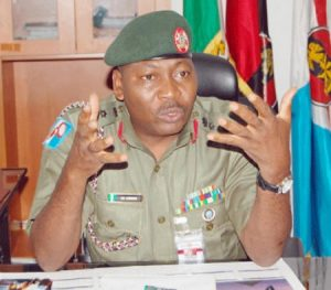 Acting Director, Army Public Relations, Col. Sani Usman