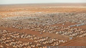 FILE - A 2012 photo shows Dadaab, the world's largest refugee camp, in Dadaab, in eastern Kenya.