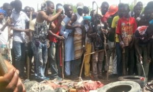 Attack on barracks in Nigeria