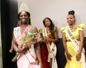 Miss Culture USA 2016, Chancè Gatoro ,with runners up Rebotele Dikolomela and Rejoice Malatji both from South Africa