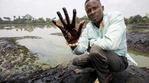In response to the devastation of the Ogoni environment, Ken Saro-Wiwa led the Movement for the Survival of the Ogoni People (MOSOP) to bring international attention to the ecological crisis, including through an Ogoni Bill of Rights issued in 1990.