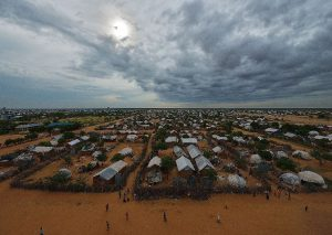 The vast majority of residents of the sprawling Dadaab complex of camps close to the Kenya-Somalia border fled Somalia's more than two-decades long conflict (AFP Photo/Tony Karumba)