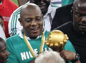 Keshi won the African Nations Cup for Nigeria as a footballer and as a coach