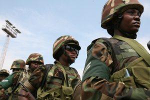 Ugandan AMISOM soldiers of Battle Group 8 leave Kampala for Mogadishu, 2011 - Obi Anyadike/IRIN