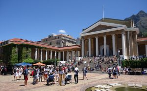 Outside the University of Cape Town. Credit: Ian Barbour.