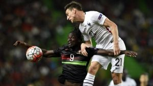 Eder had clashed against France international Koscielny before - in a friendly match in 2015