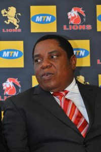 JOHANNESBURG, SOUTH AFRICA – FEBRUARY 17: Robert Gumede during the Super Rugby Lions press conference at The Referee's Drop In Room, GLRU's offices on February 17, 2011 in Johannesburg, South Africa. (Photo by Duif du Toit/Gallo Images/Getty Images)