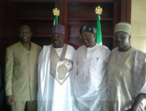 Sheriff inside pdp office as chairman