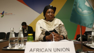 Nkosazana Dlamini-Zuma, chairperson of the African Union Commission, is to step down after holding the position for the last four years