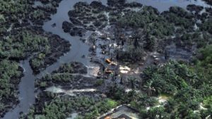 There have been many catastrophic oil spills in the Niger Delta over the years