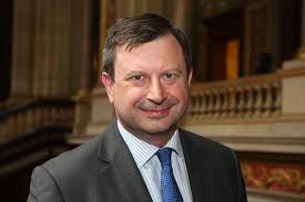 British High Commissioner, Paul Arkwright