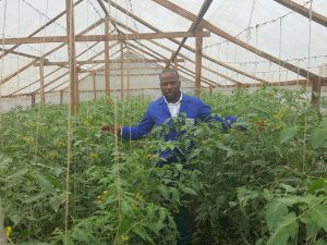 Agriculture must not be seen as something for the poor and uneducated says Fomundam,a Graduate of Northeastern University