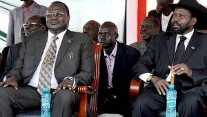 Riek Machar and Salva Kiir,both men remain vital to peace in South Sudan