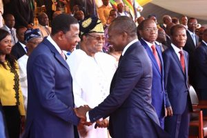 Former President Yayi Boni with his successor Patrice Talon, Benin is one the African countries with a democratic culture that facilitates peaceful transfer of power