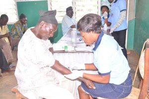 community screening by Value Health Africa