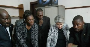 UNESCO Director-General Irina Bokova On official visit to the Central African Republic