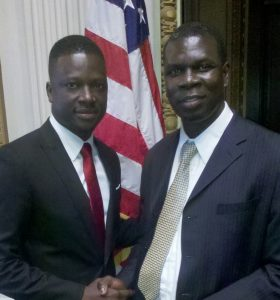 With Thione Niang at the White House,the diaspora could be Africa's secret weapon says Abou Dieng