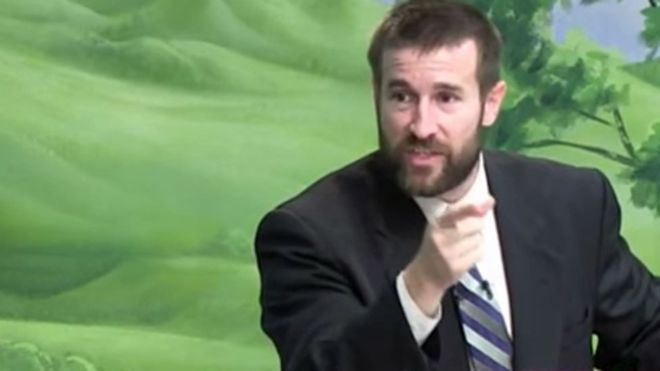 Steven Anderson has said he stands by his views about homosexuality