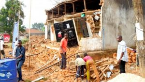The earthquake caused extensive damage in the northern city of Bukoba