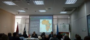 nfo session at the African Development Bank in Rabat for African Ambassadors in preparation for COP22
