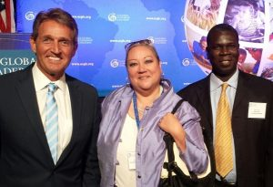 With Senator Jeff Flake of Arizona