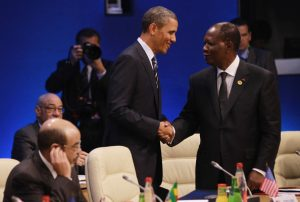 Obama and Ouattara