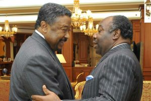 Friends turned foes, both President Ali Bongo and challenger Jean Ping served under late President Bongo