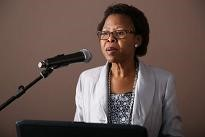 Ms Deborah Mochotlhi, Deputy Director General Department of Water and Sanitation Republic of South Africa