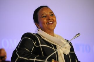 Kenya's nominee for the African Union Commission chair - Foreign Affairs Cabinet Secretary Amina Mohamed (file photo)