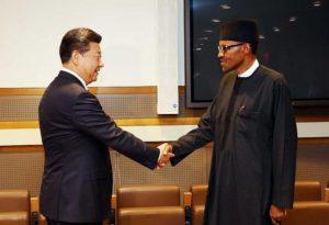 Nigeria's Buhari and Chinese leader