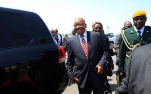 President Zuma arrives Zimbabwe for a state visit
