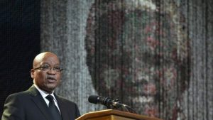 Jacob Zuma has been involved in a series of court battles over corruption allegations