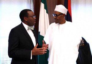 Dr. Akinwunmi Adesina-and-President Buhari