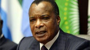 Congo's President Sassou Nguesso