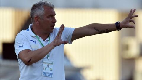 Jorge Costa was only reappointed in August on a six-month deal.