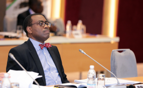 African Development Bank (AfDB) president Akin Adesina at the 2nd meeting of the 14th replenishment of the African Development Fund