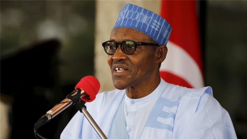 Nigerian President Muhammadu Buhari