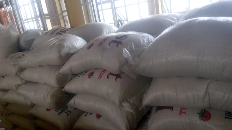Plastic' or not? Over 100 bags of fake rice seized in Nigeria