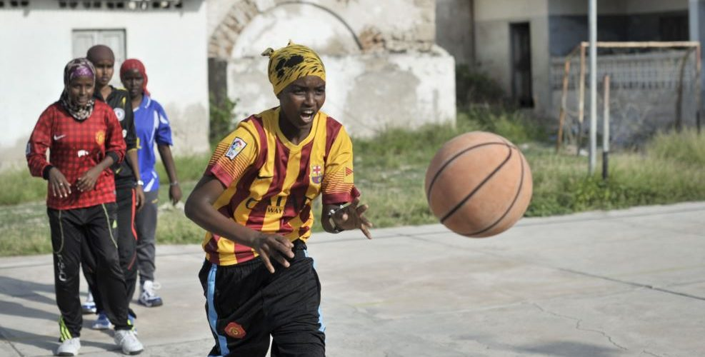 "The Somali Religious Council warns, Dec. 22, 2016, women against playing basketball, describing it as, ""unIslamic and threat to their faith."""