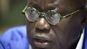FILE - New Patriotic Party leader Nana Akufo-Addo.