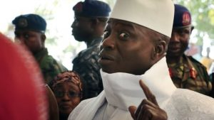 Yahya Jammeh has been in power for 22 years