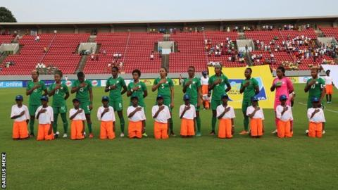 African women's champions Nigeria launch sit-in protest