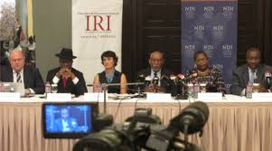 NDI election observer mission arrives in Ghana