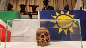 Herero and Nama groups want compensation for German atrocities which included sending skulls to Germany where now-discredited scientific experiments were carried out