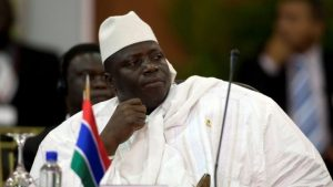 Yahya Jammeh seized power in the tiny West African country in 1994